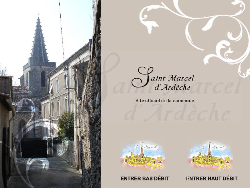 Commune de saint marcel d 39 ard che - Piscine de saint marcel ...